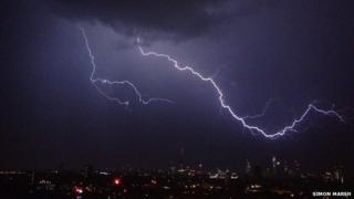 Storms over London