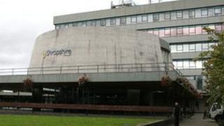 Shropshire Council building