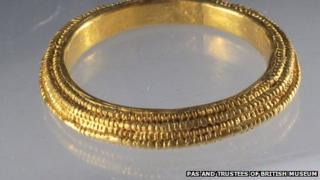 Gold ring found in South Shropshire
