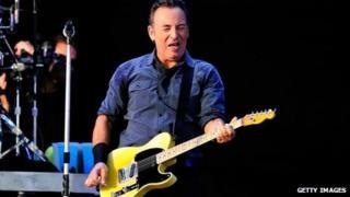 Bruce Springsteen in 2013