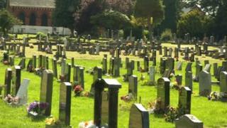 Alfreton cemetery