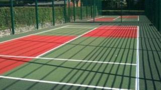 Poole Park tennis courts