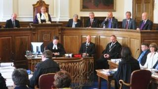 A sitting of the States of Guernsey assembly