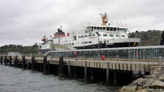 Ferry in Stornoway