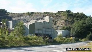 Brayford Quarry. Pic: Martin Bodman