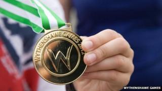 Wythenshawe Games medal