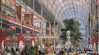 The Transept at the Great Exhibition