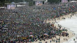 Pope on Copacabana