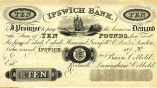 Cobbold Ipswich bank note