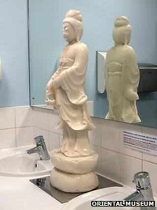 Soap sculpture