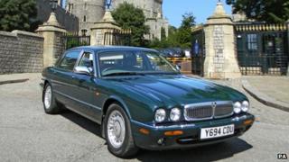Queen's old Daimler