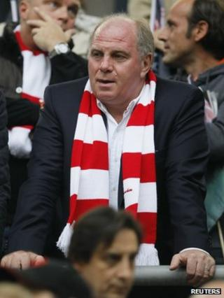 Uli Hoeness (file photo)