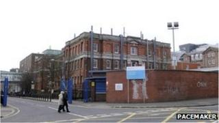 Royal Victoria Hospital in Belfast