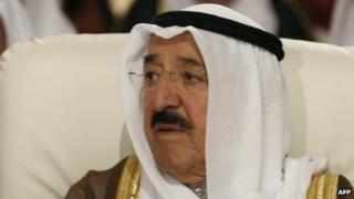 Kuwaiti Emir Sheikh Sabah al-Sabah