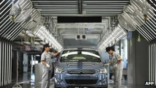 Peugeot factory in China