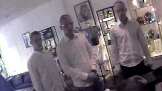 Robbery at the Gold centre, Porthcawl