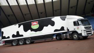 Muller Wiseman lorry