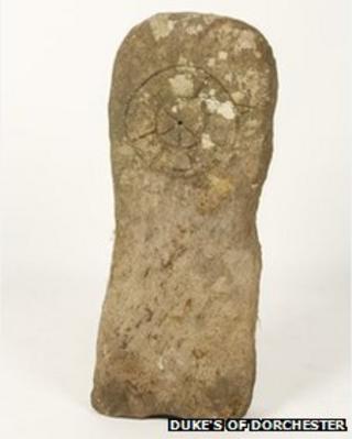 Rare Anglo Saxon gravestone