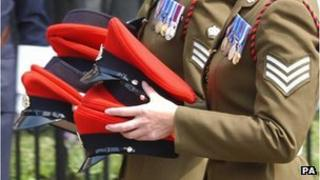 Funeral of Cpl Russell Aston