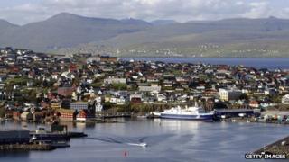 View of Torshavn, Faroe Islands