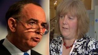 Nick Bourne and Christine Humphreys