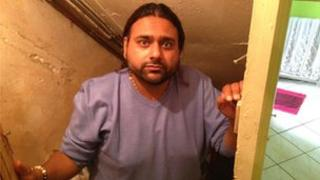 Sundeep Patel from Leicester regularly gets raw sewage flooding his house