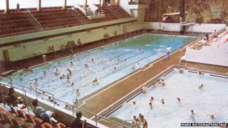 Summerland swimming pool