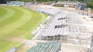 Redevelopment of Riverside cricket ground, Chester-le-Street