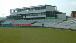 Old press box, Riverside cricket ground, Chester-le-Street