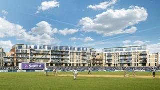 Artist's impression of the club's new facilities