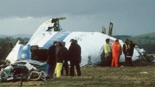 Lockerbie bomb crash site