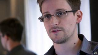 US whistleblower Edward Snowden