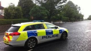 Scene of Belfast alert