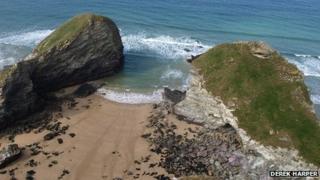 Zacry's Island, Cornwall