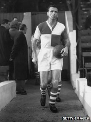 Geoff Bradford in 1958