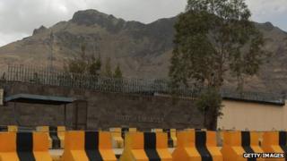 The British embassy in Yemen