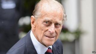 Prince Philip leaves hospital on 17 June