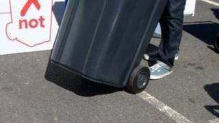 Wheelie bin - generic image