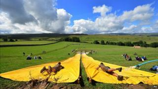 The Total Warrior 10 mile challenge