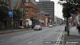 Great Victoria Street Belfast
