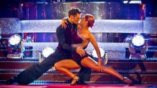 Harry Judd and Aliona Vilani dance the Argentine Tango