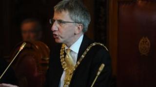 Sinn Féin's Máirtín Ó Muilleoir was elected lord mayor in June