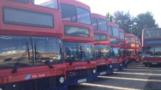 Bus station Salisbury