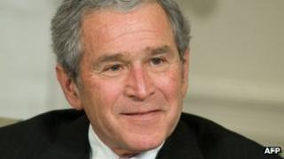George W Bush file picture from 2009