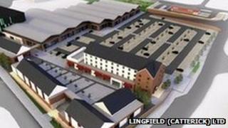 Plans for Catterick development