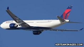 Delta Airlines Airbus A330-300