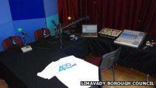 Limavady radio station, 400 FM