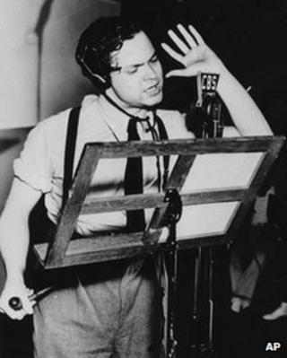 Orson Welles in 1938