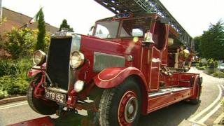 The 1938 fire engine