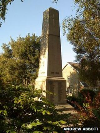 Barnoldswick war memorial